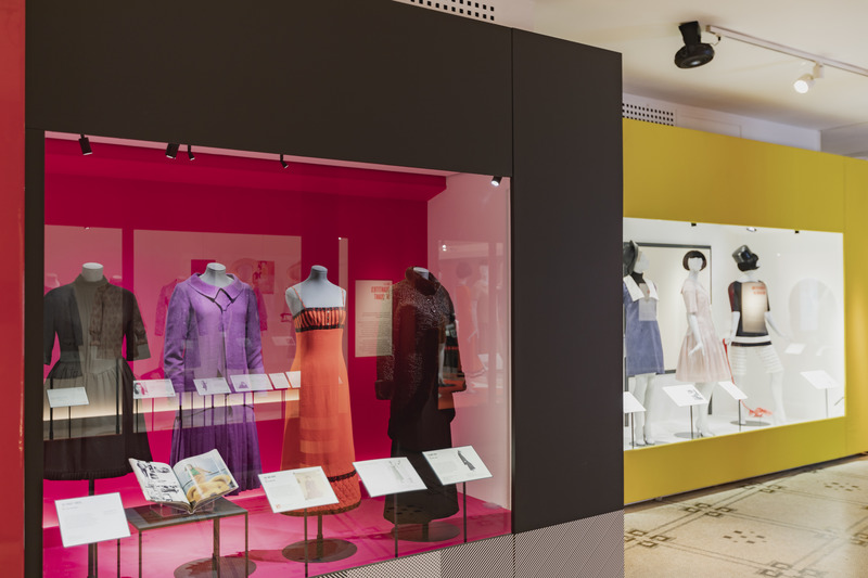 Mary Quant at the V&A (06 April 2019 – 16 February 2020). © Victoria and Albert Museum, London